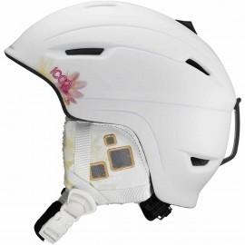 Salomon ICON WHITE - Dámská lyžařská helma - Salomon