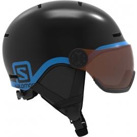 Salomon GROM VISOR - Dětská lyžařská helma
