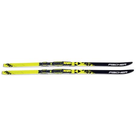 Běžecké lyže - Fischer SET SKIN PRO JR + TOUR-IN JR - 4