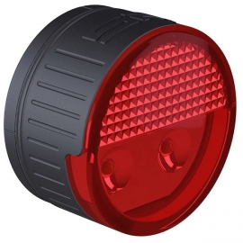 SP Connect ROUND LED SAFETY LIGHT RED - Červené světlo