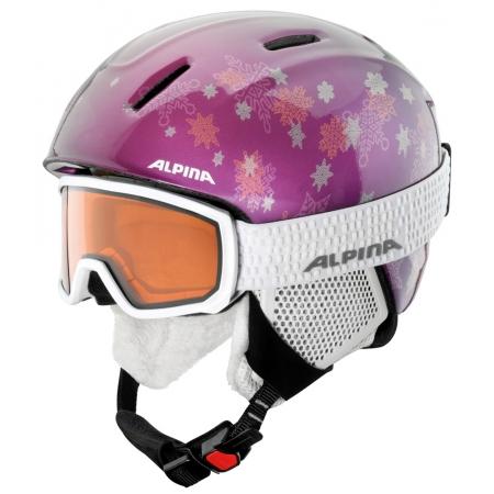 Juniorské lyžařské brýle - Alpina Sports SCARABEO JR DH