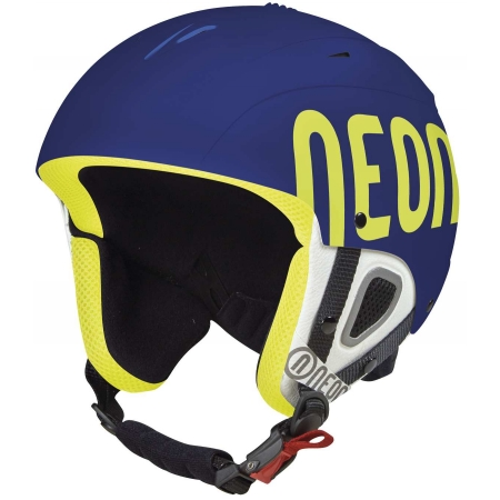 Lyžařská helma - Neon LUNAR