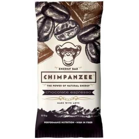 Chimpanzee ENERGY BAR CHOCOLATE ESPRESSO 55 G - Energetická tyčinka