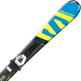 Salomon E X-RACE JR S + E C5 - Juniorské sjezdové lyže