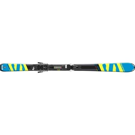 Juniorské sjezdové lyže - Salomon E X-RACE JR M + E L7 - 2
