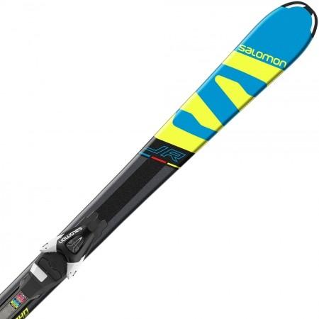 Juniorské sjezdové lyže - Salomon E X-RACE JR M + E L7 - 1