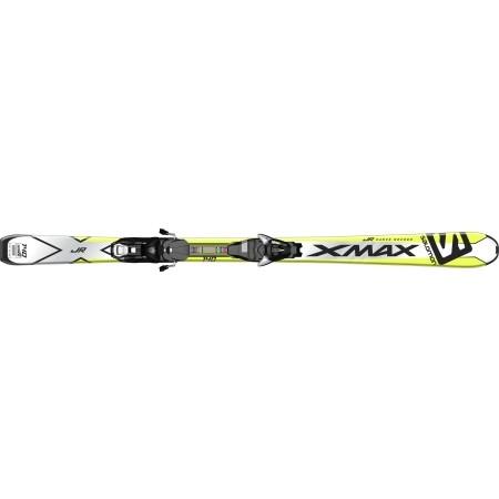 Juniorské sjezdové lyže - Salomon E X-MAX JR M + E EZY7 B80 - 2