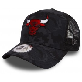 New Era 9FORTY CAMO TRUCK CHICAGO BULLS - Klubová truckerka
