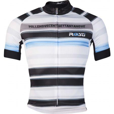 Pánský cyklistický dres - Rosti RIGA 2 DL ZIP - 1