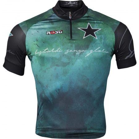 Pánský cyklistický dres - Rosti BASTARDI KR ZIP - 1