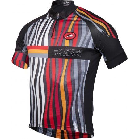 Pánský cyklistický dres - Rosti FUEGO KR ZIP - 2