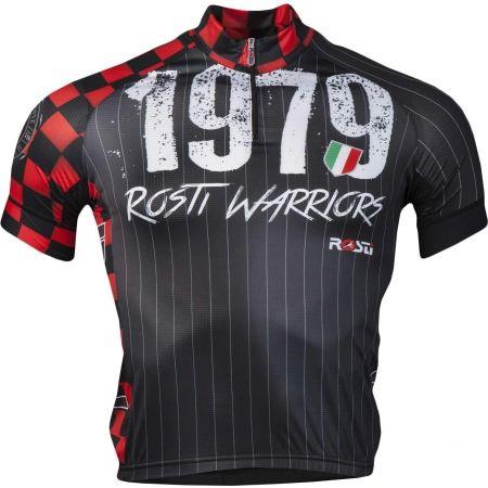 Pánský cyklistický dres - Rosti WARRIOR KR ZIP - 1