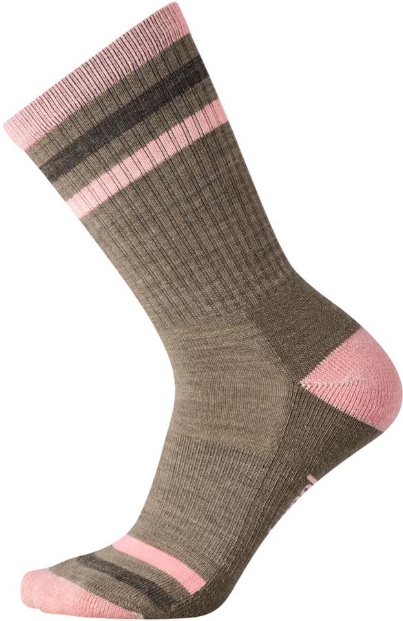 Smartwool STRIPED HIKE LIGHT CREW W. Dámské turistické ponožky be6fe7ed01