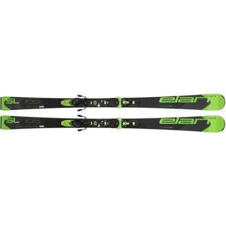Závodní sjezdové lyže - Elan SL FUSION + ELX11 - 2