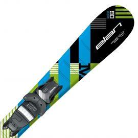 Elan MAXX BLK BLUE QS + EL 7.5 - Chlapecké sjezdové lyže