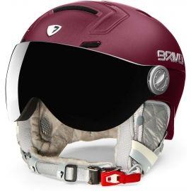 Briko AMBRA VISOR PHOTO - Dámská lyžařská helma