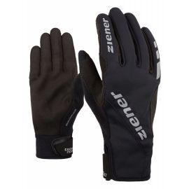 Ziener UMANI GWS PR BLACK - Běžecké rukavice