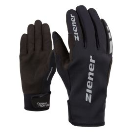 Ziener URS GWS BLACK - Běžecké rukavice