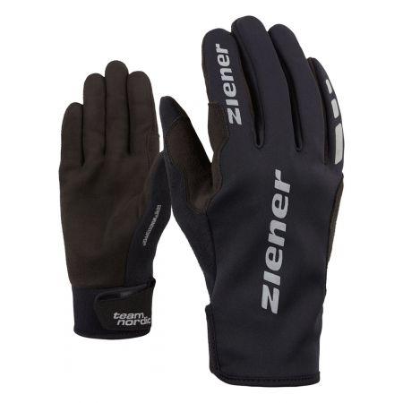 Běžecké rukavice - Ziener URS GWS BLACK