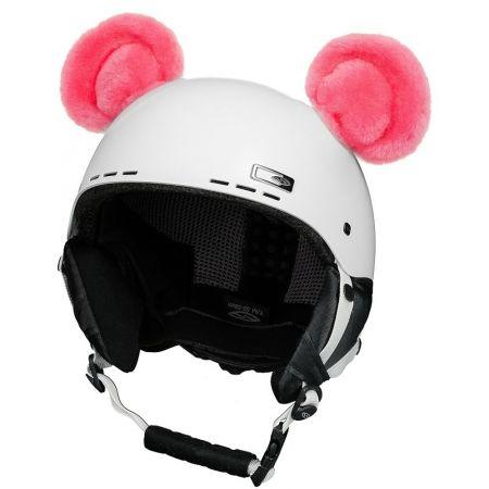 Uši na helmu - Crazy Ears CRAZY UŠI - MEDVÍDEK - 1