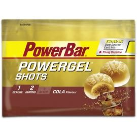 Powerbar GEL SHOTS COLA+KOFEIN 60G - Energetický gel