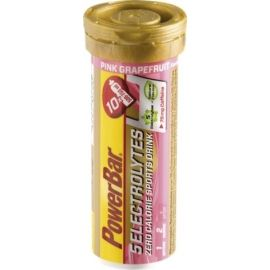 Powerbar ELEKTOLYTE RŮŽ. GREP+KOFEIN - Rozpustné tablety