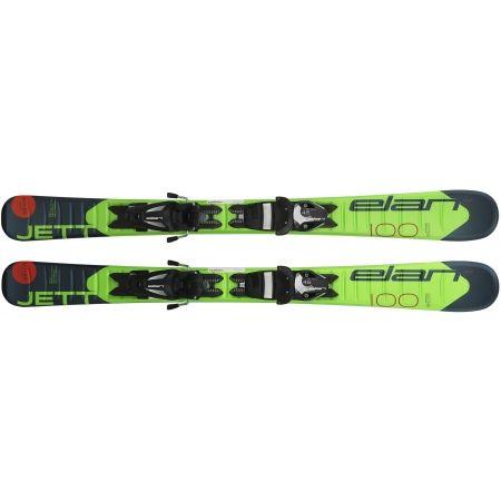 Chlapecké sjezdové lyže - Elan JETT QS + EL 7.5 - 3