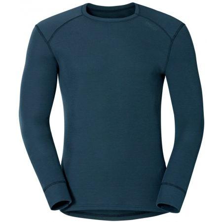 Pánské funkční tričko - Odlo SUW MEN'S TOP L/S CREW NECK ACTIVE WARM - 1