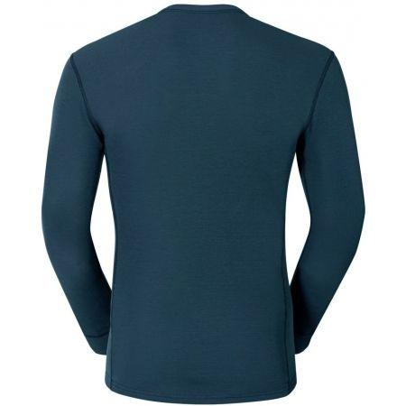 Pánské funkční tričko - Odlo SUW MEN'S TOP L/S CREW NECK ACTIVE WARM - 2