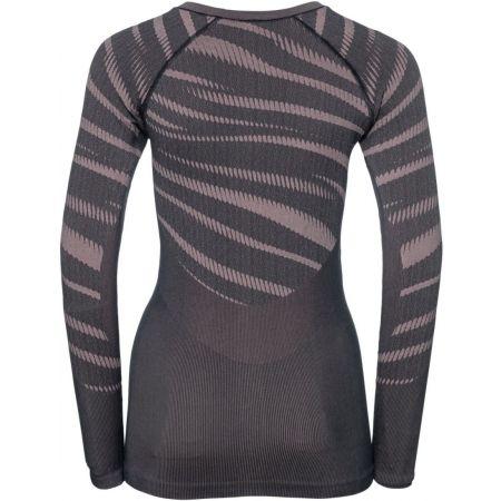 Dámské funkční triko - Odlo SUW WOMEN'S TOP L/S CREW NECK PERFORMANCE BLACKCOMB - 2