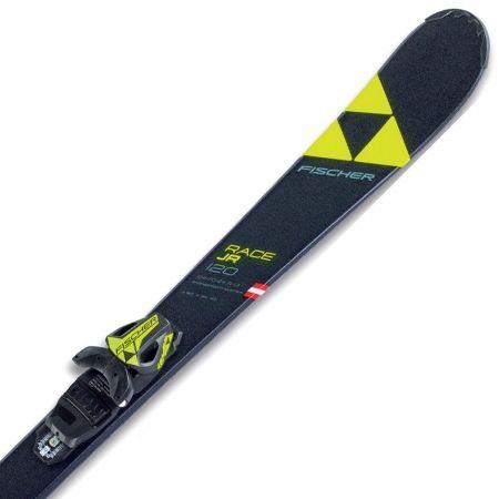 Juniorské sjezdové lyže - Fischer RC4 RACE JR SLR + FJ4 AC SLR - 2