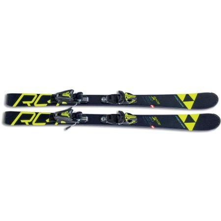 Juniorské sjezdové lyže - Fischer RC4 RACE JR SLR + FJ4 AC SLR - 3