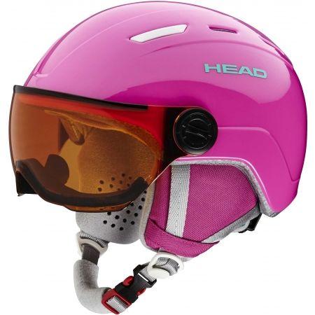 Juniorská lyžařská helma - Head MAJA VISOR