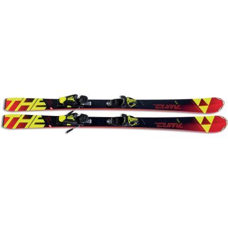 Juniorské sjezdové lyže - Fischer THE CURV PRO JR. + FJ7 - 3