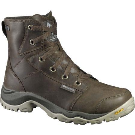 Pánská treková obuv - Columbia CAMDEN OUTDRY CHUKKA LEATHER 2f622379b5