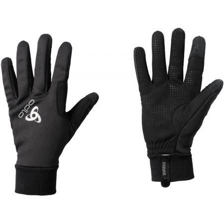 Odlo GLOVES WINDPROOF WARM - Běžkařské rukavice