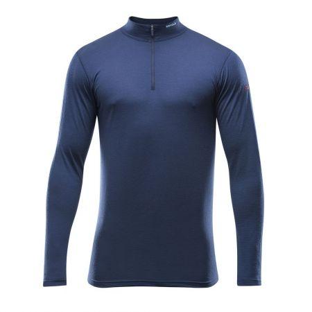 Pánské funkční triko - Devold BREEZE MAN HALF ZIP NECK