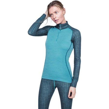 Dámské funkční triko - Devold DUO ACTIVE WOMAN ZIP NECK - 2