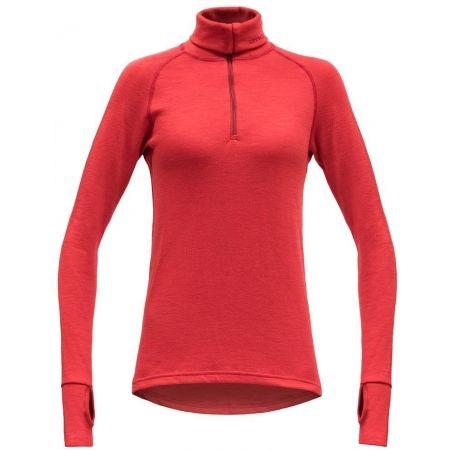 Devold EXPEDITION WOMAN ZIP NECK - Dámské funkční triko
