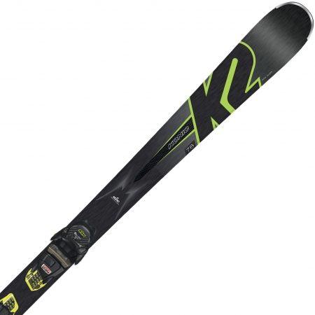 Sjezdové allmountain lyže - K2 KONIC 78 + M3 10 COMP - 3