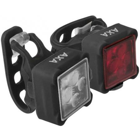 Set předního a zadního světla na kolo - AXA NITELINE 44 - 1