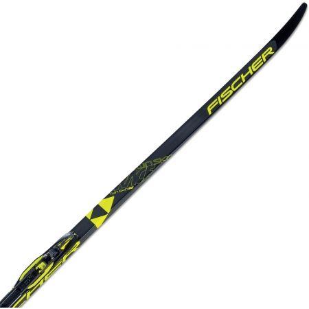Běžecké lyže na klasiku s podporou stoupání - Fischer TWIN SKIN RACE MED/STIFF + RACE CLASSIC - 1