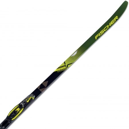 Běžecké lyže na klasiku s podporou stoupání - Fischer TWIN SKIN CRUISER EF + TOUR STEP-IN IFP - 3