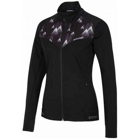 Ziener NARIT BLACK - Dámská softshellová bunda