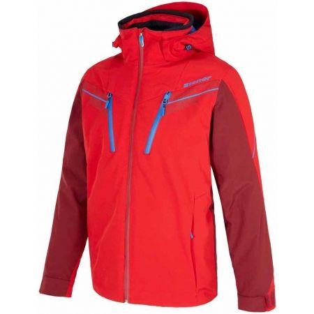 Pánská lyžařská bunda - Ziener TILTON RED - 1