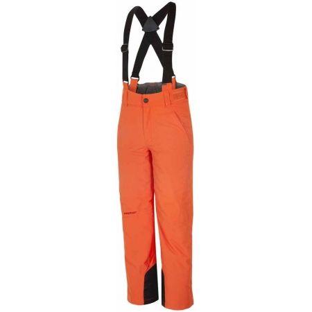 Dětské lyžařské kalhoty - Ziener ANDO ORANGE - 1