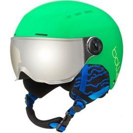 Bolle QUIZ VISOR - Dětská lyžařská helma se štítem