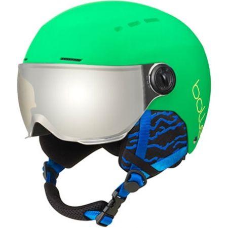 Dětská lyžařská helma se štítem - Bolle QUIZ VISOR