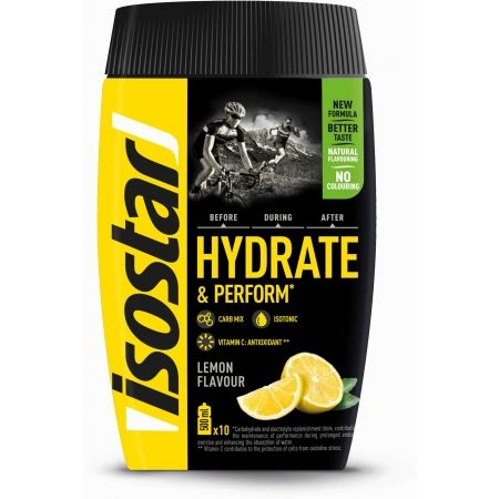 Isotonický nápoj - Isostar HYDRATE PERFORM CITRON 400 G