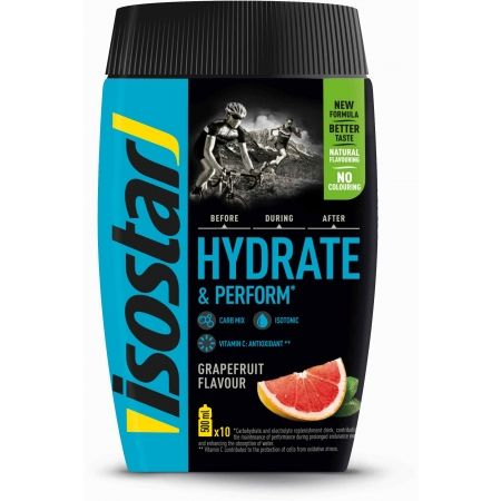 Isotonický nápoj - Isostar HYDRATE PERFORM FRESH 400 G